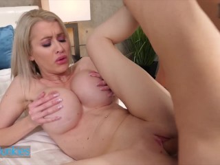 Reality Junkies – Sexy Blonde Katie Monroe Is About To Cheat On Her Monday Dildo With Young Stud