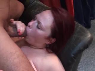 chubby redhead milf deep fisted