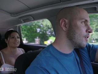 Trickery – Driver Tricks Busty Serena Santos Into Hot Sex