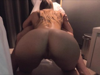 Fucked beauty after blowjob