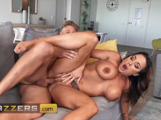 Brazzers – Australian Goddess Aubrey Black Teases Her Stepson With Her Superior Tits