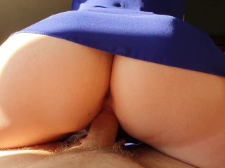 PAWG Blonde Takes Cock In Her Throat And Wet Pink Pussy