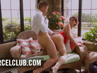 The Hot Milf Emma Teases A Man And Has hot sex wth him