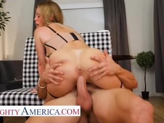 Naughty America – Casca Akashova is the perfect MILF sex doll