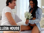 Bellesa - Robby Echo Gives Hot Chick Jada Kai A Nice Flower Before Pounding Her Pussy