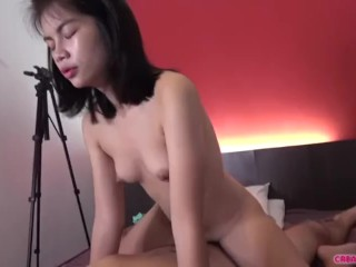 Teen Thai slut begs me to dump my seed deep into her cunt
