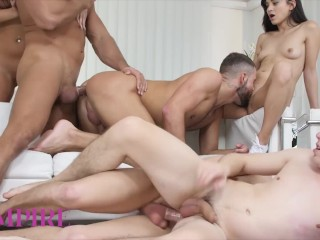 Bi-Empire – Steamy Bisexual Orgy With Hot Babes And Studs