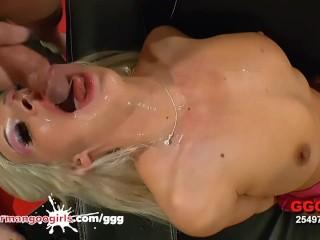 Hot Blonde Jizz Swallowing Cum Sluts Compilation
