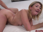 Zelda gets her Teen Pussy plugged full of Big White Dick