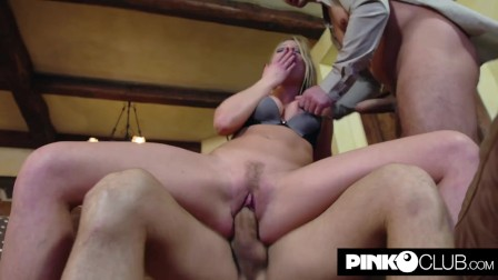 Lucy Heart screwed by Christian Clay and Neeo s big cocks