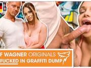 German Milf Dirty Priscilla finally fucked his dick in Public! Wolf Wagner Originals