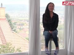 HerLimit - Nataly Gold Sexy Russian Slut Rough Interracial Ass Fuck On Camera - LETSDOEIT