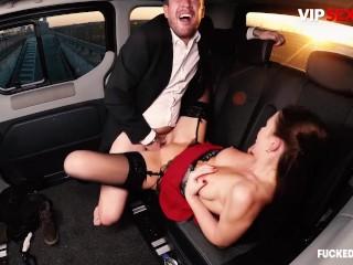 FuckedInTraffic – Tina Kay Sexy British Slut Seduces And Fucks Driver's Big Cock – VIPSEXVAULT