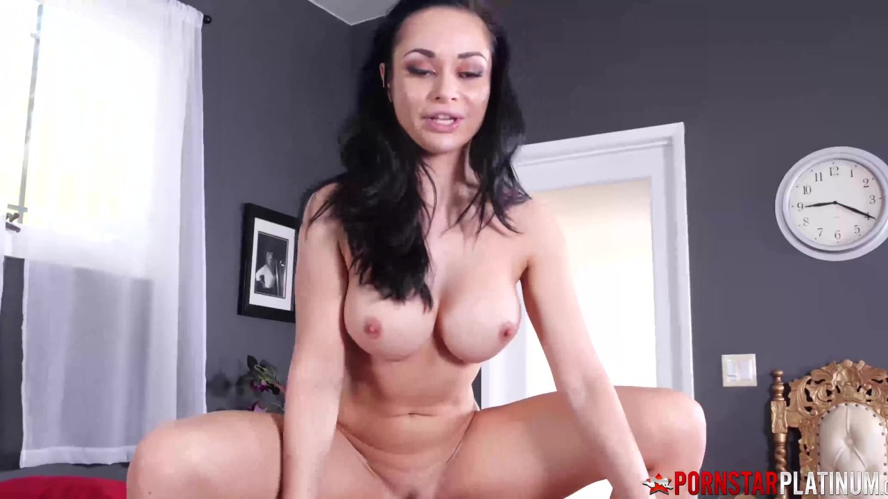 Busty MILF Rides Cock Reverse Cowgirl