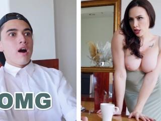 BANGBROS – Big Tits Cougar Chanel Preston Rides Daughter's Boyfriend's Big Cock