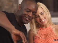 BLACK4K White babe and black photographer are carnal in throes of passion