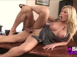 Blondie Big Tits Donna Bell Office Rough Fuck Session