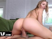 Hot Blonde MILF Gives Some July 4th Pussy