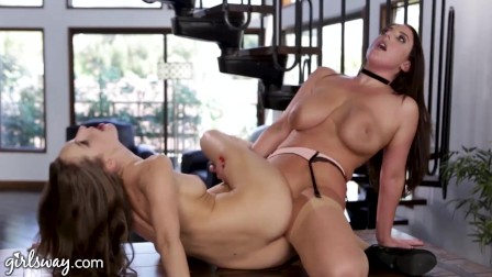 Stacked Hot MILF Lesbian Compilation