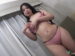 Interview with Japanese cheating housewife Kaori that comes to our hotel to fuck