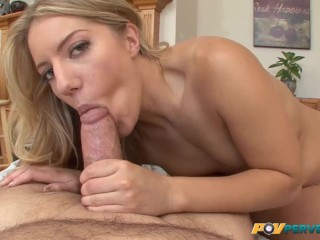 Natural Blonde Fucked in Every Hole POV
