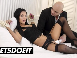 WHITEBOXXX – Gorgeous Girlfriend Adelle Sabelle Tied Up And Fucked By Her Lover – LETSDOEIT