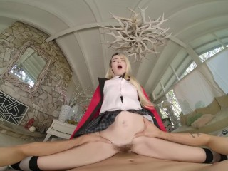 Blonde Teen Babe Lilly Bell As Runa Is In The Mood For Hard Dick